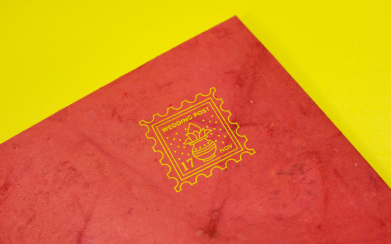 Ganesha Wedding Card